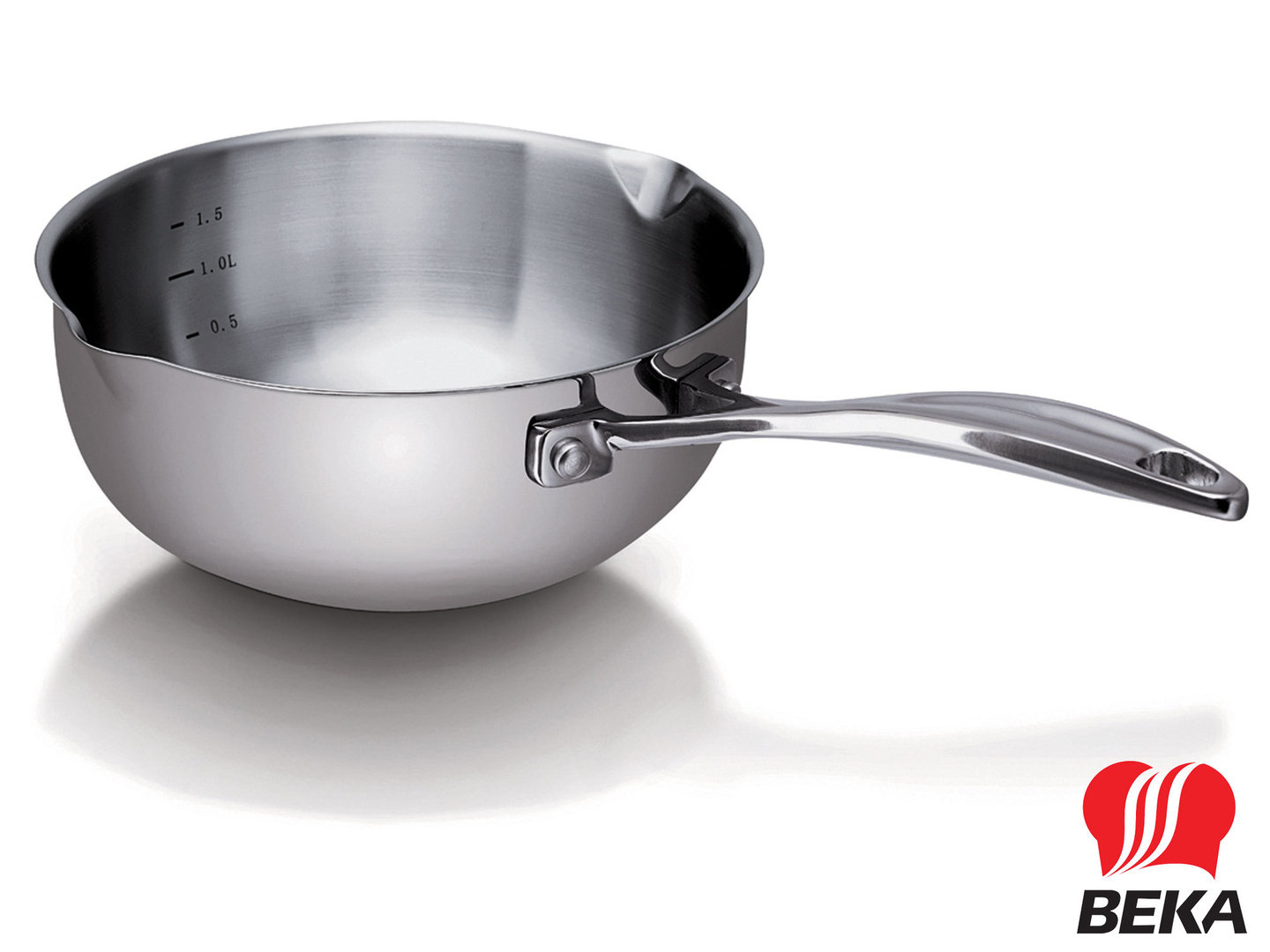 BEKA conical saucepan CHEF 20 cm stainless steel induction