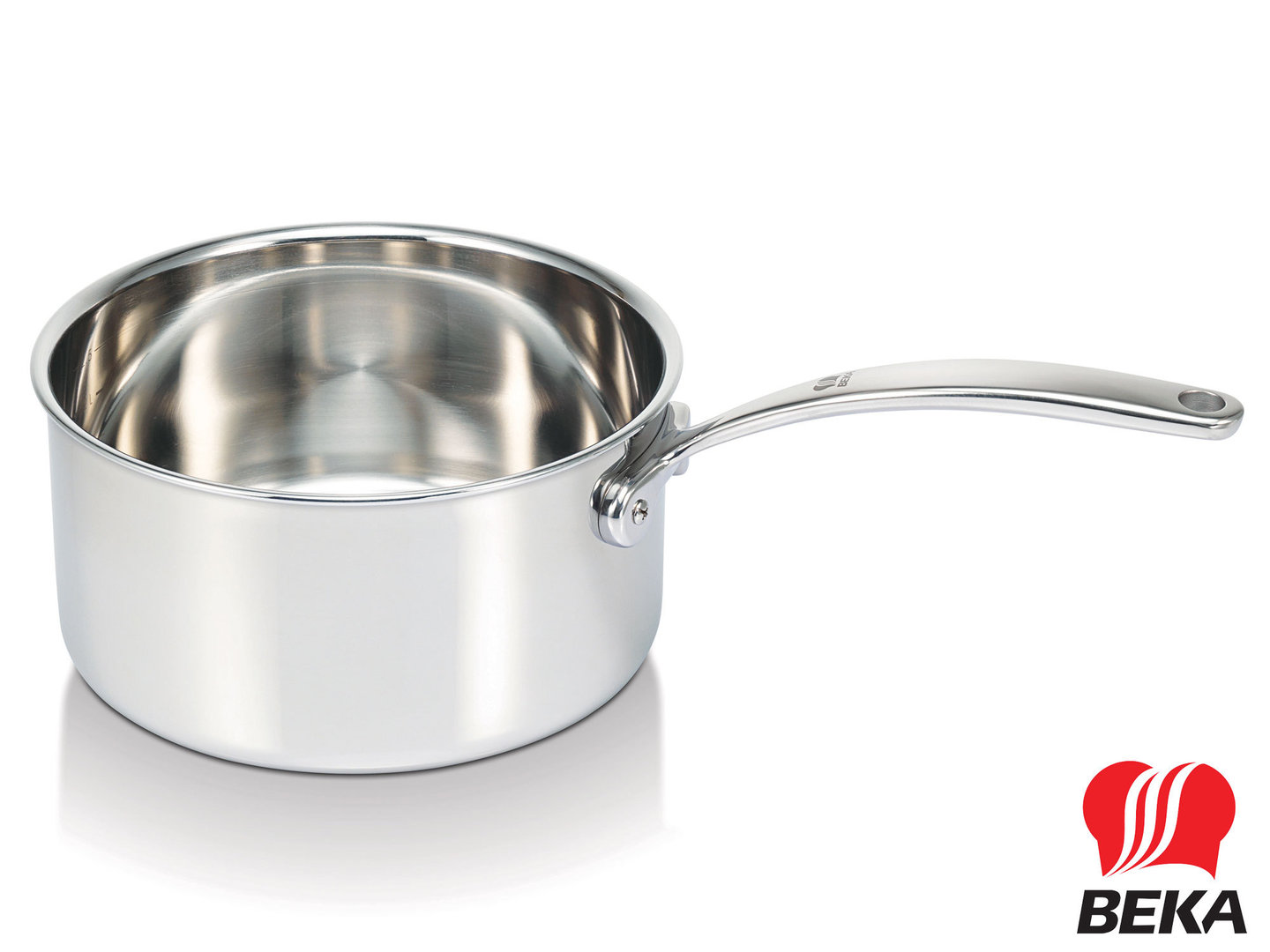 BEKA 3-ply stainless steel saucepot TRI-LUX 16 cm