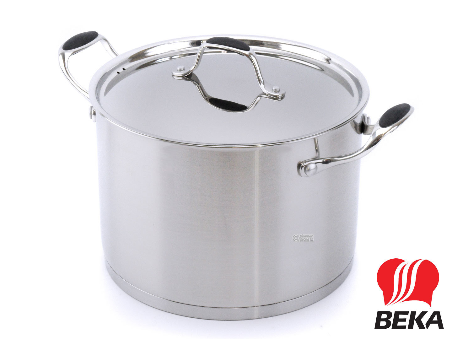 BEKA casserole SUAVE with lid 24 cm stainless steel