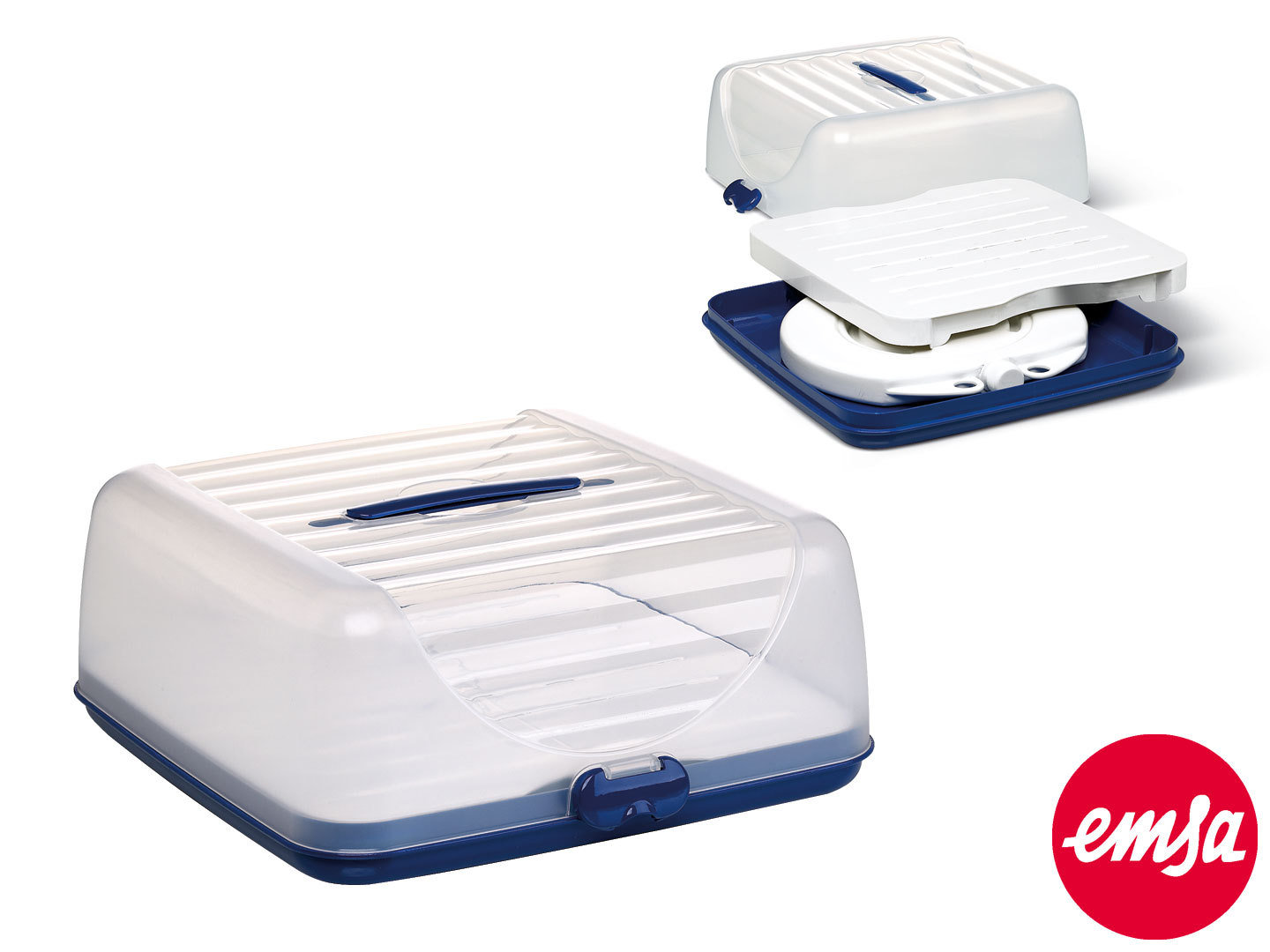 EMSA Partybutler Plus SUPERLINE eckig 36 cm mit Thermo-Akku