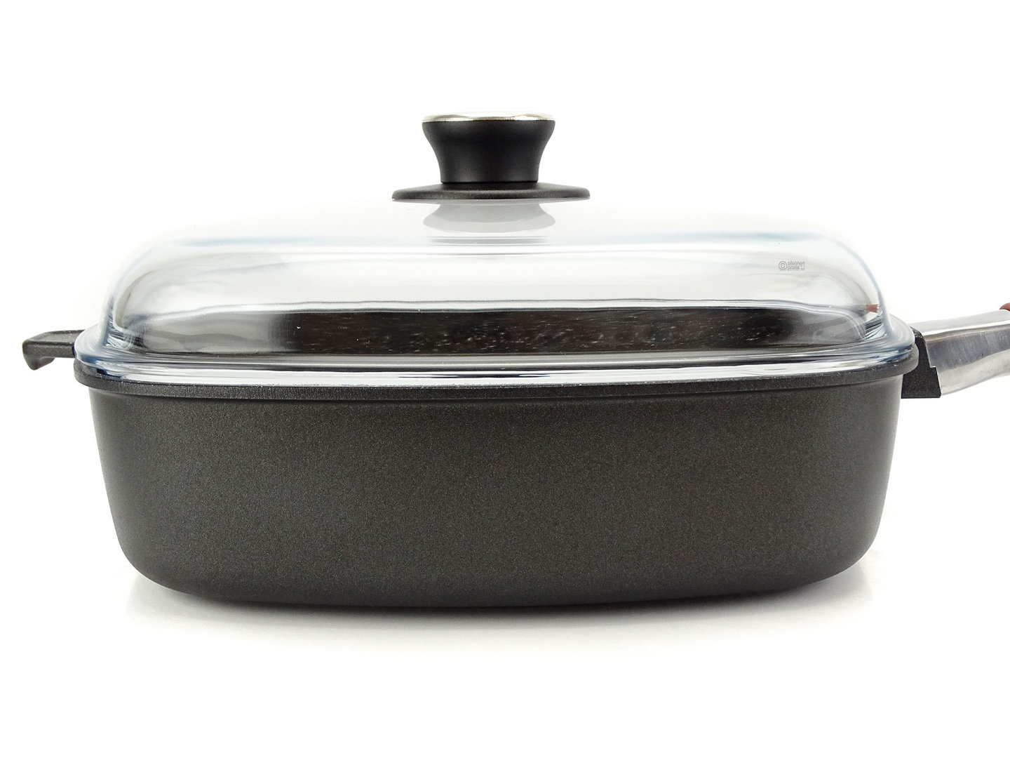Square Cast Alu Skillet Extra Deep With Lid Buy Online