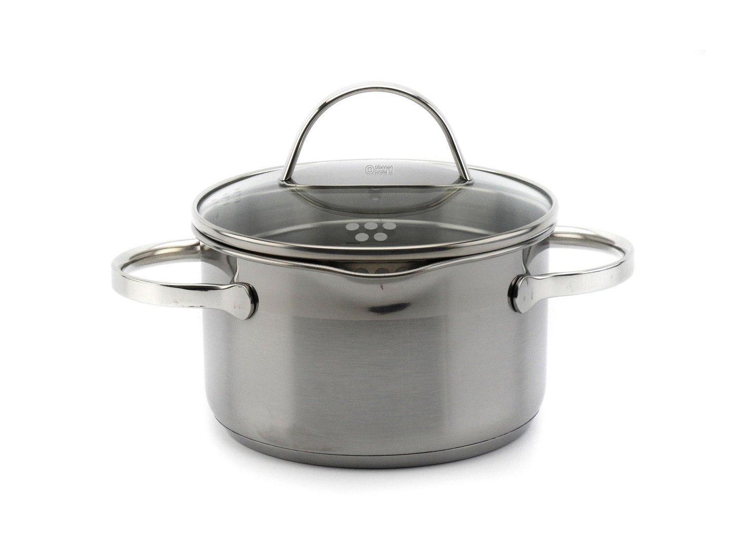 SSW easy straining casserole COMFORT 16 cm 1.9 L stainless steel induction