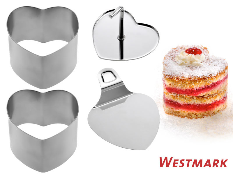 WESTMARK food shaper HEART 4 pcs set