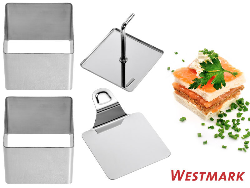 WESTMARK food shaper SQUARE 4 pcs set