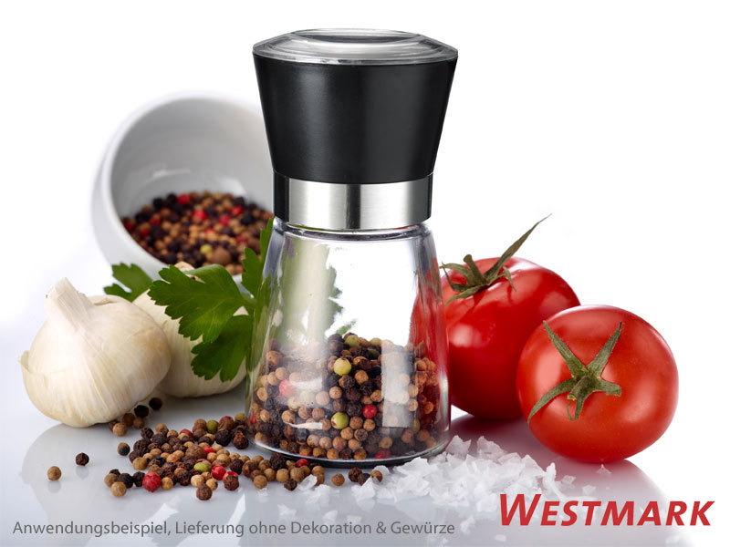 WESTMARK spice mill with ceramic grinder and cover lid