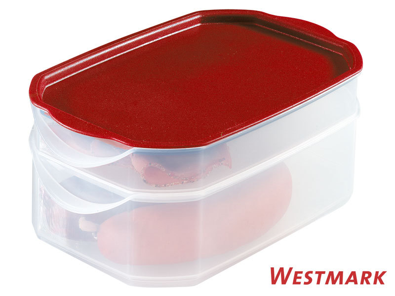 WESTMARK cold cut keeper with 2 compartments