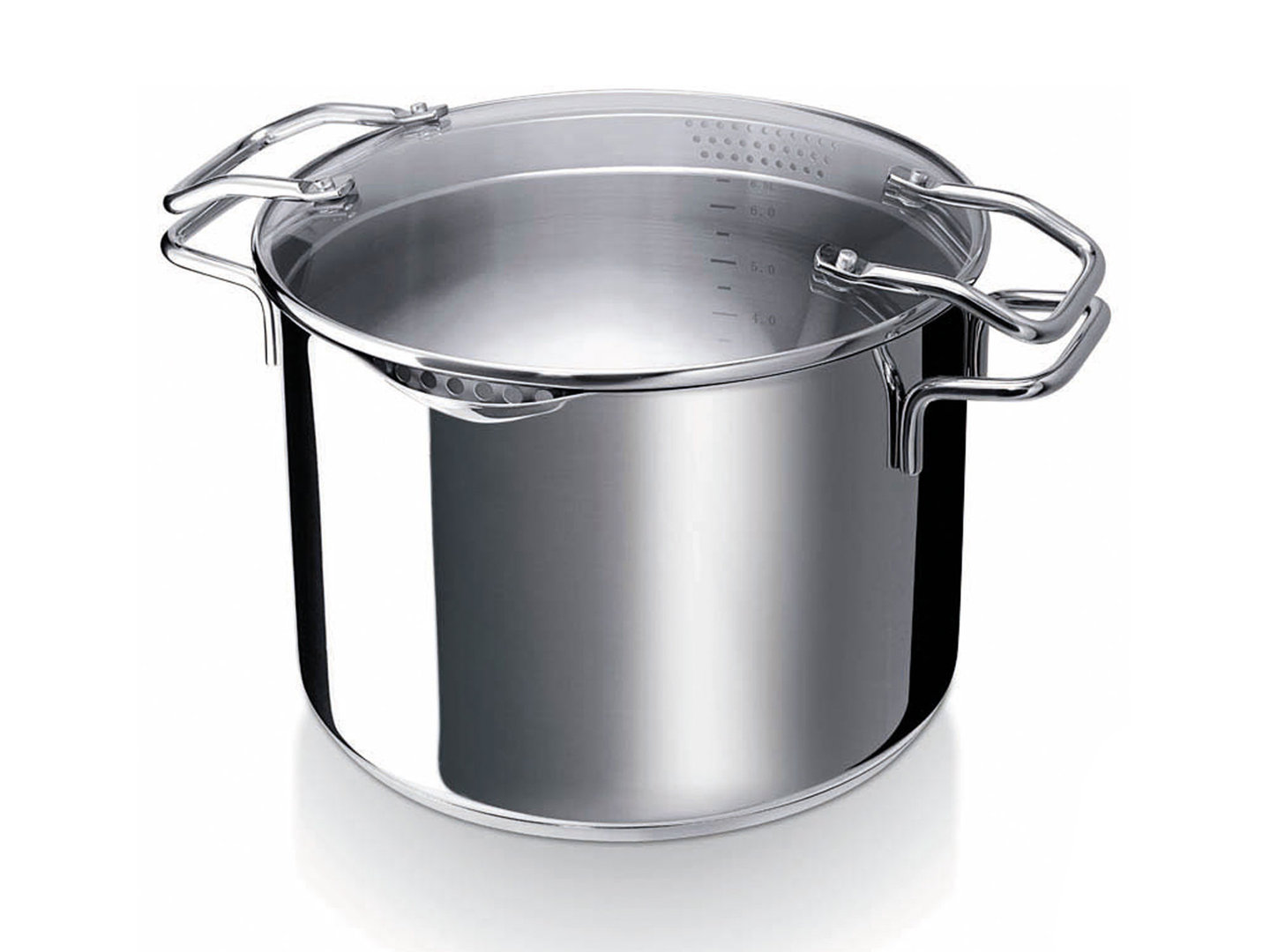 BEKA pasta cooker EMPORO 24 cm stainless steel easy straining casserole induction