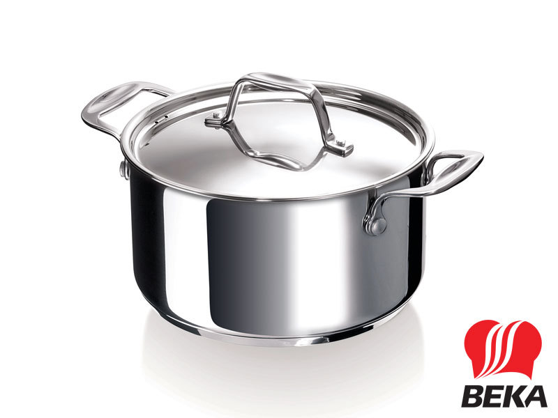 BEKA casserole CHEF 16 cm with lid stainless steel
