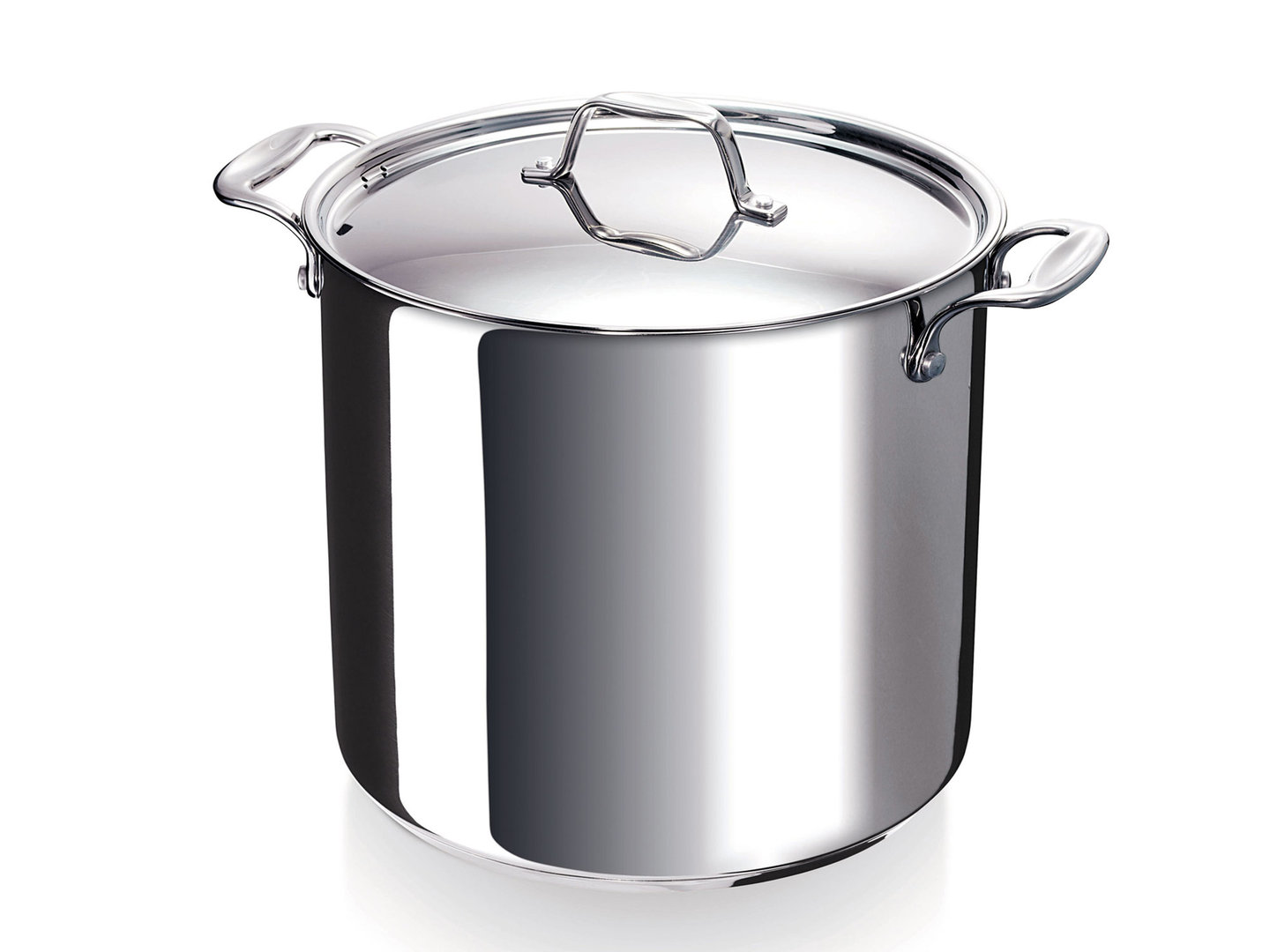 BEKA stockpot CHEF with lid 24 cm stainless steel deep casserole 10 Liter