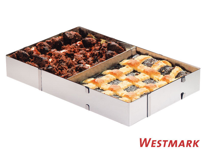 WESTMARK cake baking / pizza frame with separator stainless steel