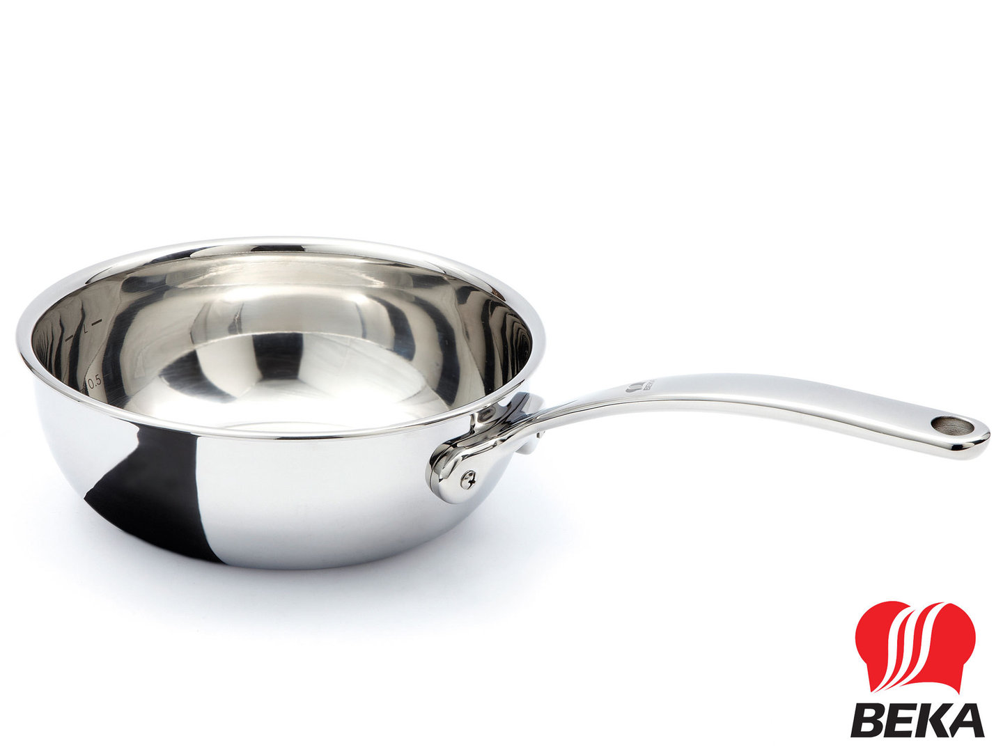 BEKA conical 3-ply stainless steel saucepot TRI-LUX 20 cm