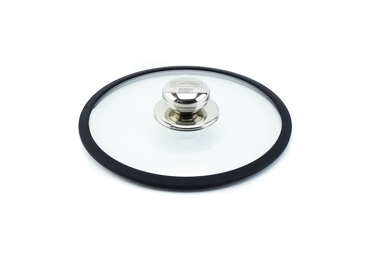 CASTEY ovenproof glass lid 20 cm with silicone rim