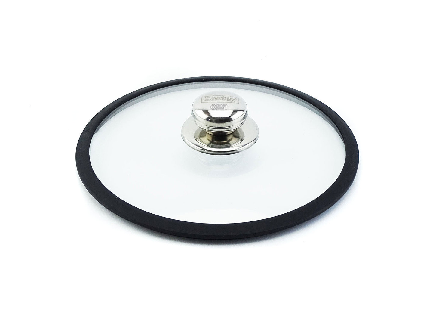 CASTEY ovenproof glass lid 22 cm with silicone rim