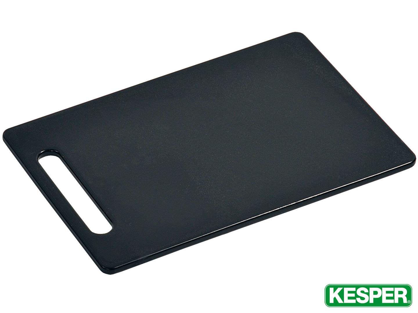KESPER cutting board 37 x 25 x 0,8 cm black plastic