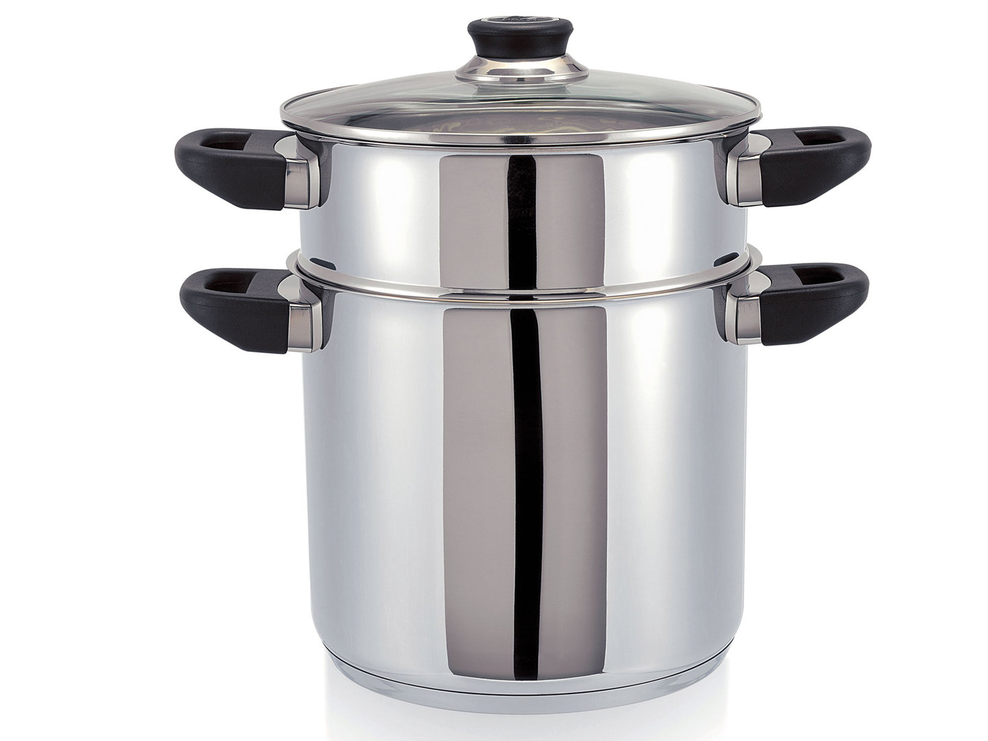 BEKA Couscous steamer POLO 24 cm stainless steel Couscoussier