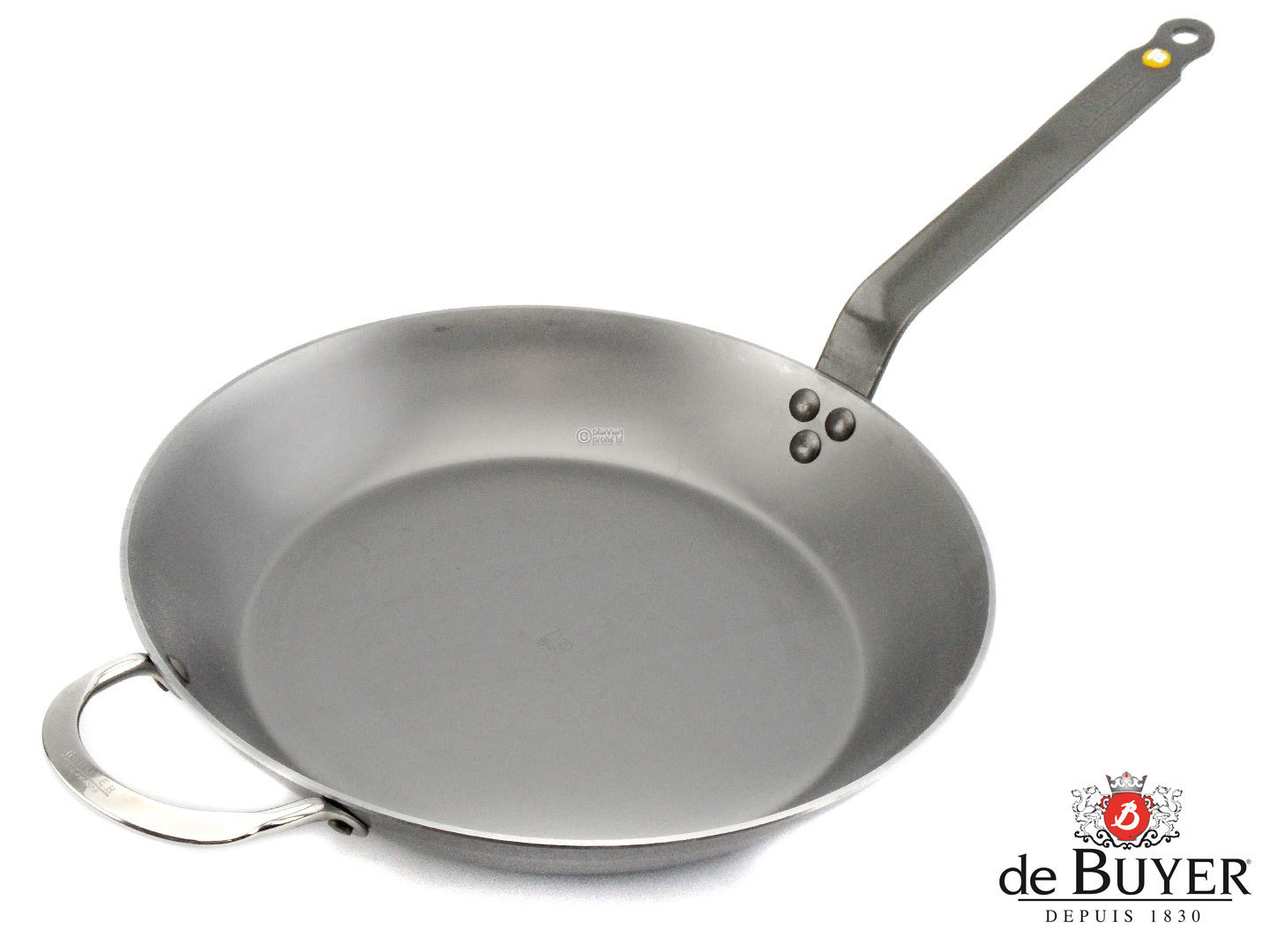 DE BUYER iron pan MINERAL B ELEMENT 32 cm frypan