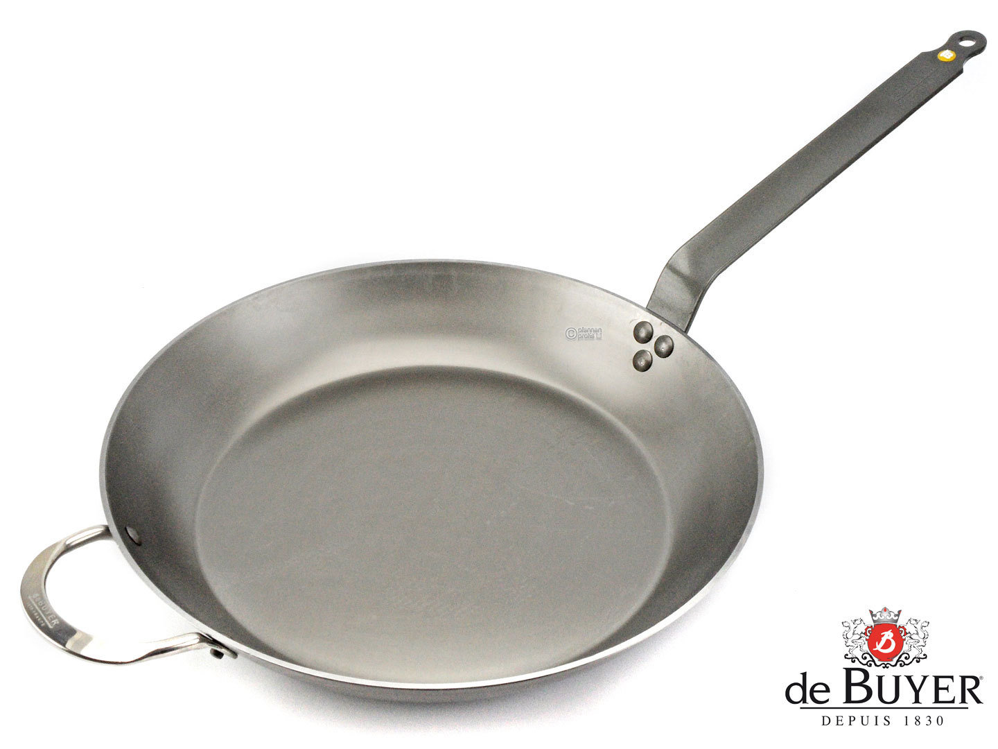 DE BUYER iron pan MINERAL B ELEMENT 36 cm frypan