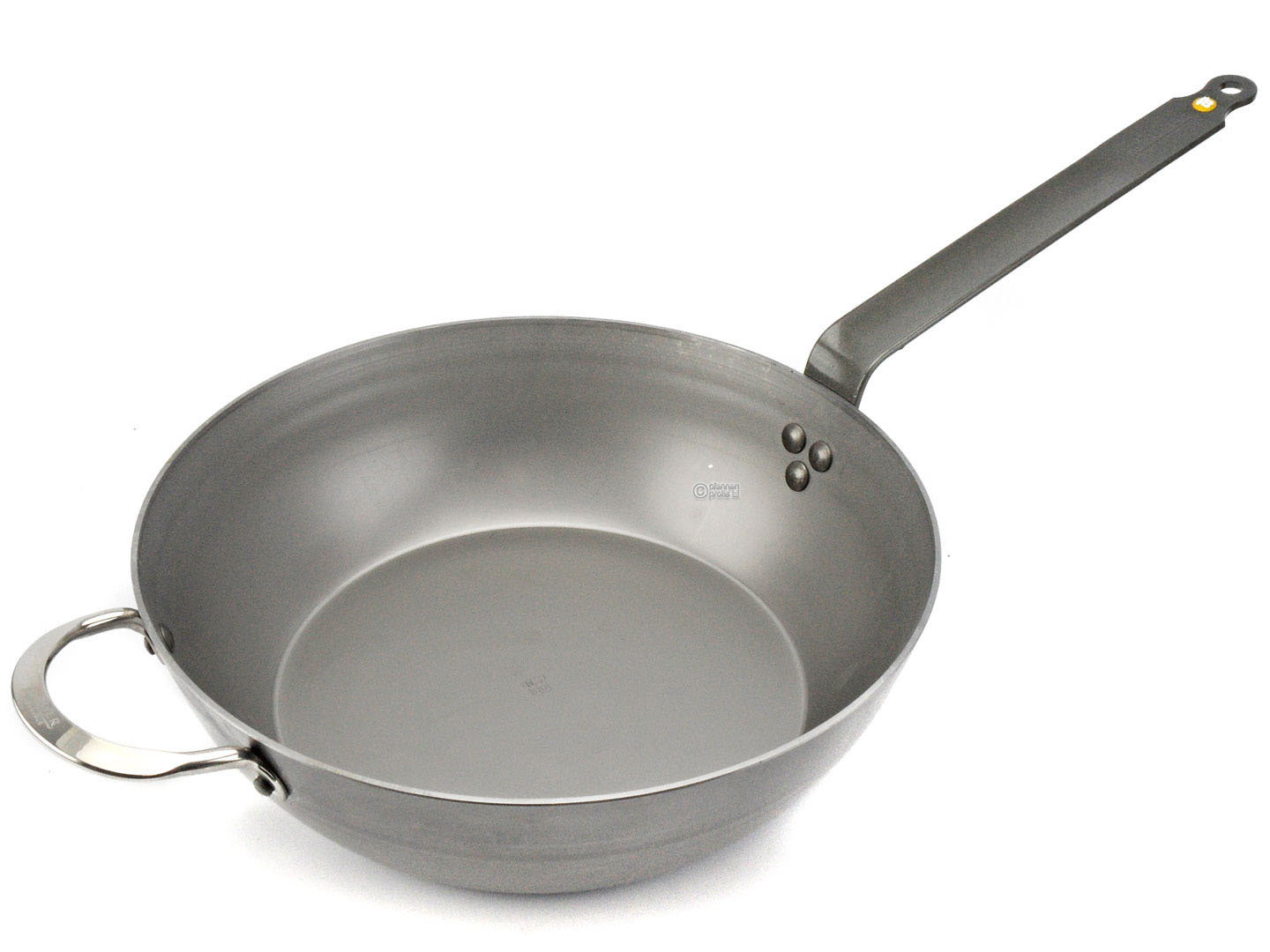 DE BUYER iron country pan MINERAL B ELEMENT 32 cm deep skillet