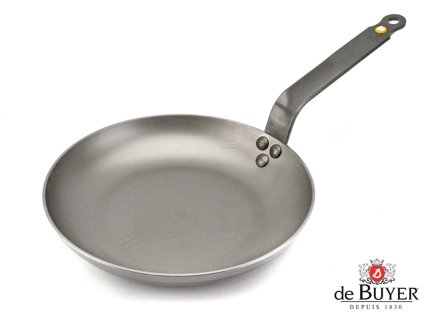DE BUYER omelette pan MINERAL B ELEMENT 24 cm iron pan