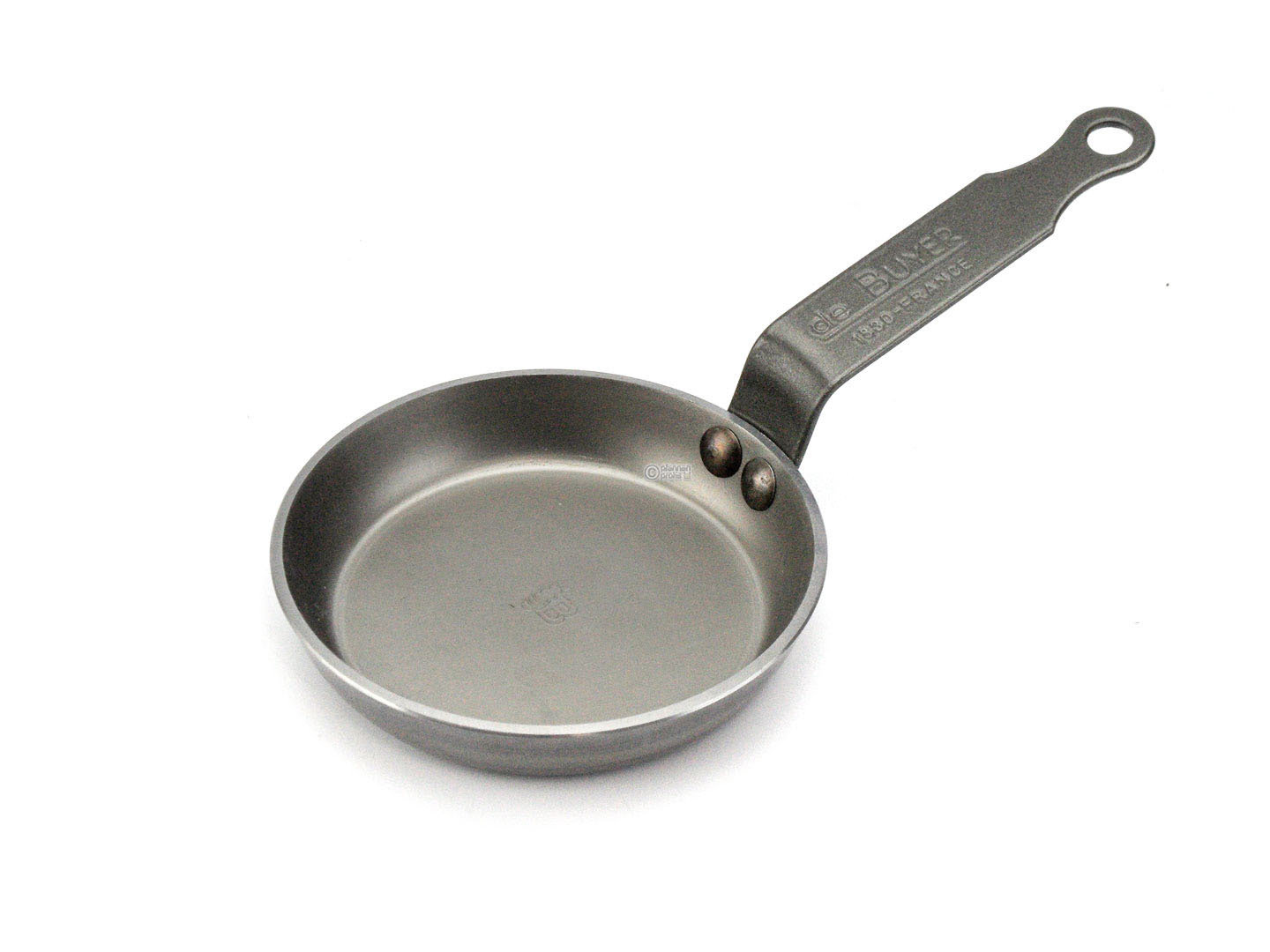 DE BUYER blini pan MINERAL B ELEMENT 12 cm small iron pan