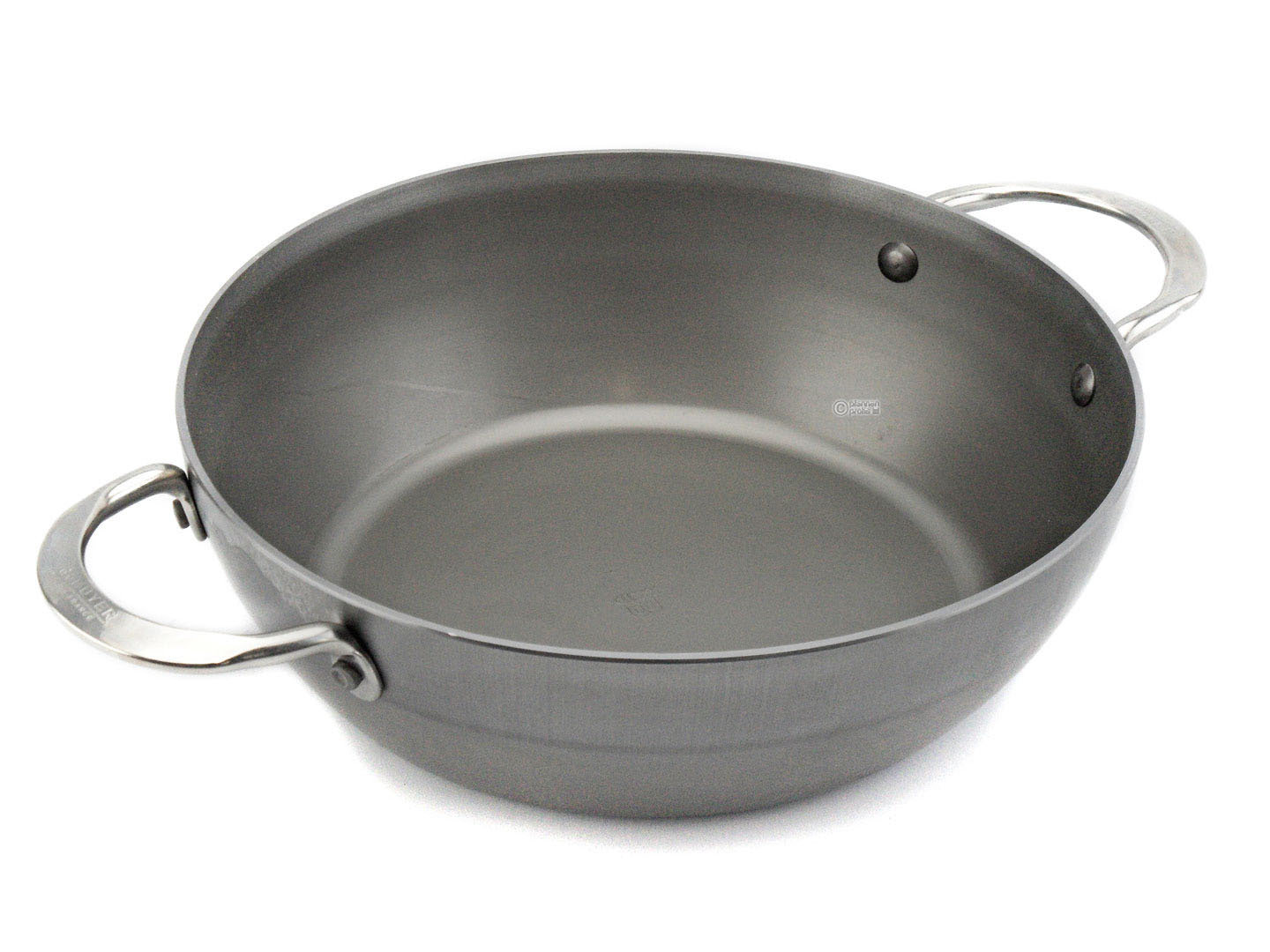 DE BUYER iron country pan MINERAL B ELEMENT 28 cm deep skillet with 2 handles