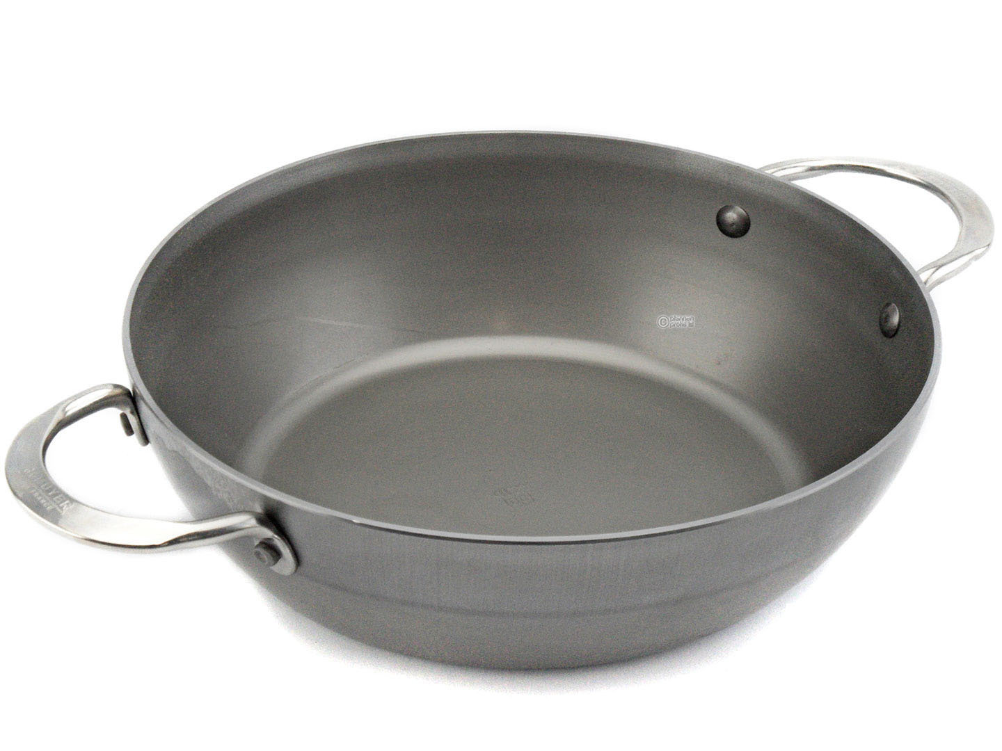 DE BUYER iron country pan MINERAL B ELEMENT 32 cm deep skillet with 2 handles
