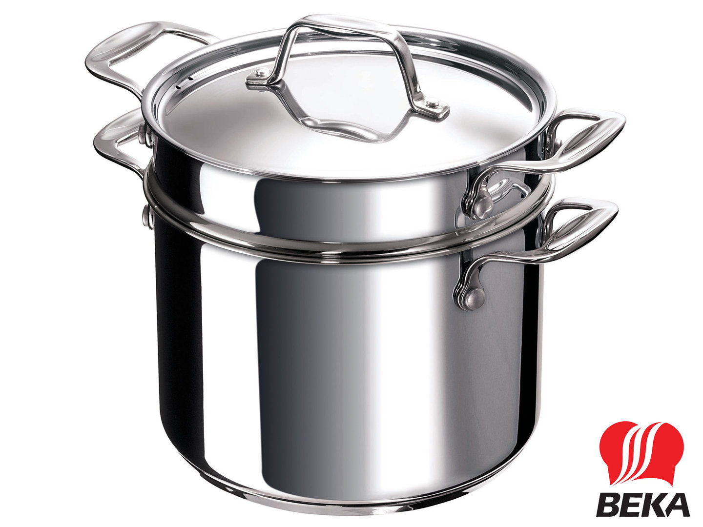 BEKA pasta cooker CHEF PASTA FUN 24 cm stainless steel induction