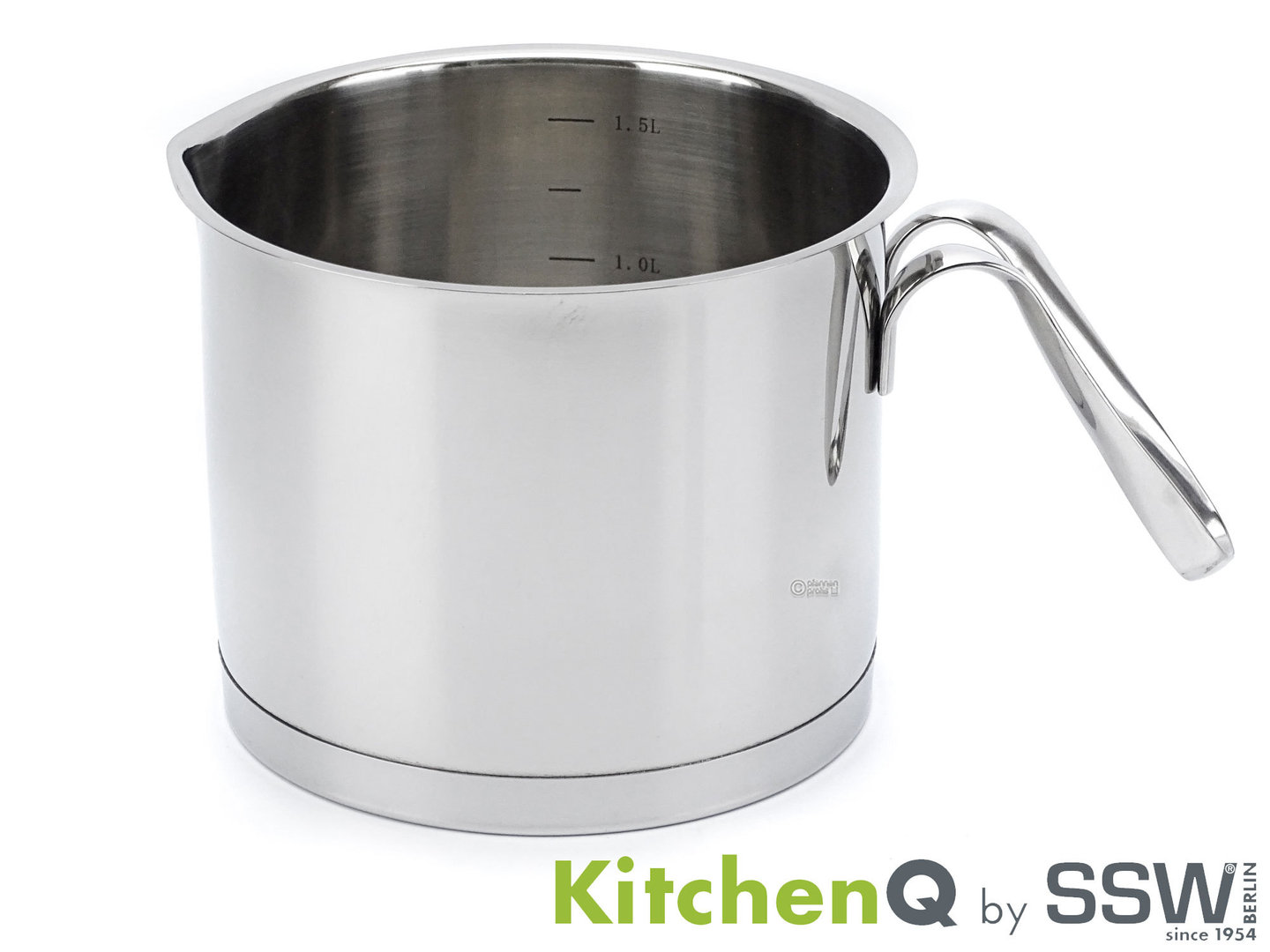 SSW milk pot PROFI STAR 14 cm stainless steel induction