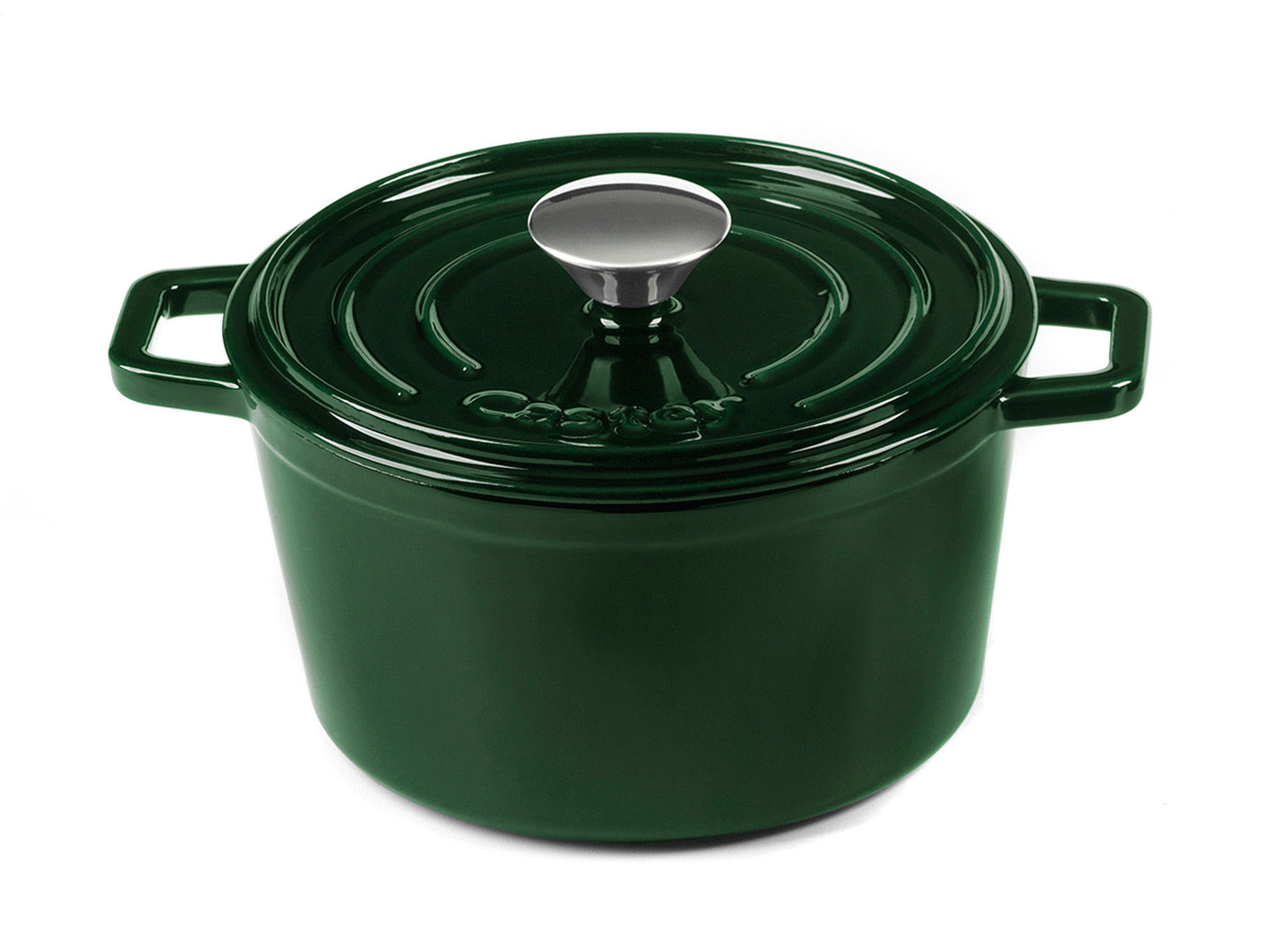 CASTEY Gusseisen Topf COCOTTE 18 cm JADE Emaille