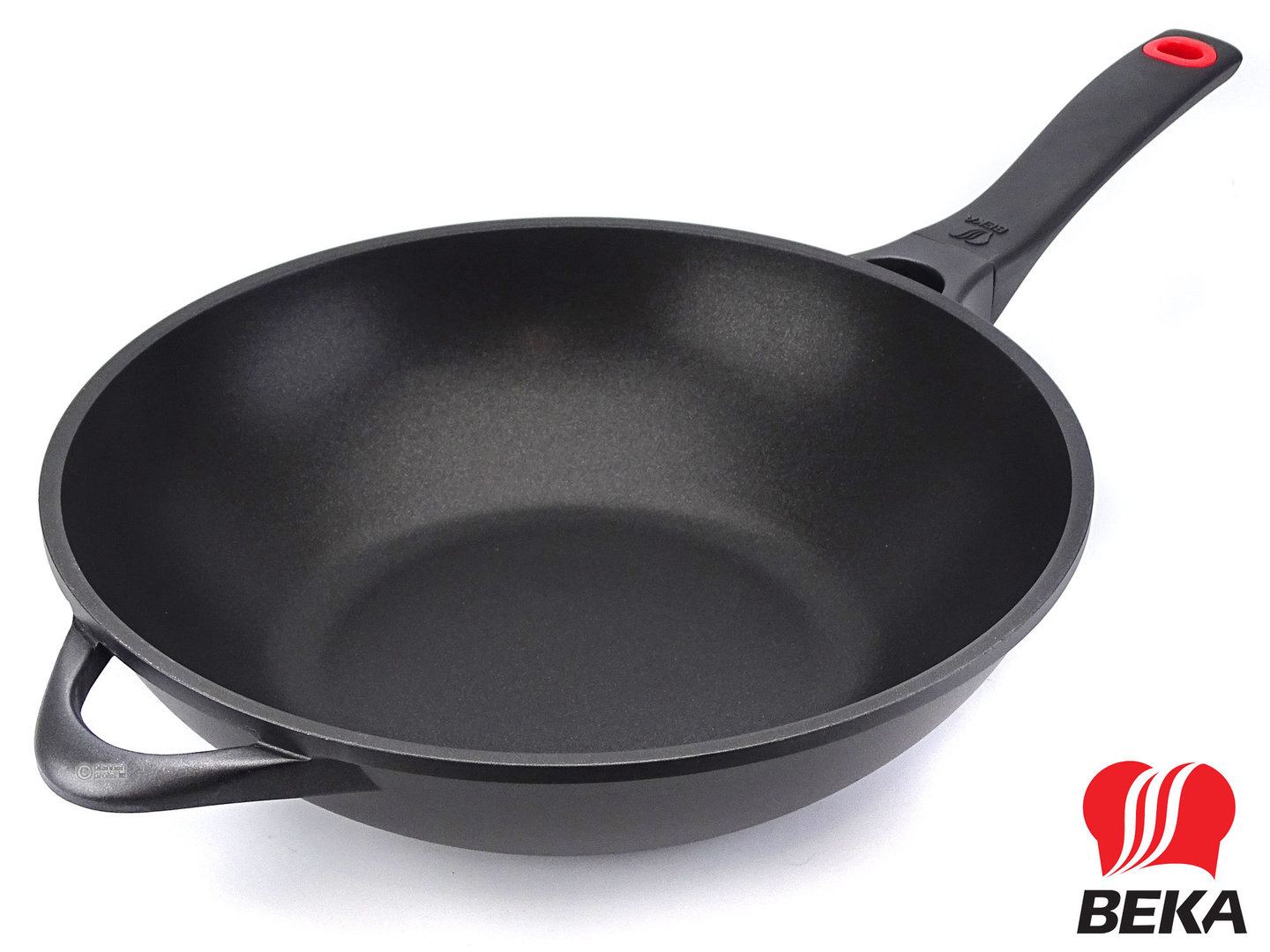 BEKA cast aluminum wok pan ENERGY 30 cm non-stick induction