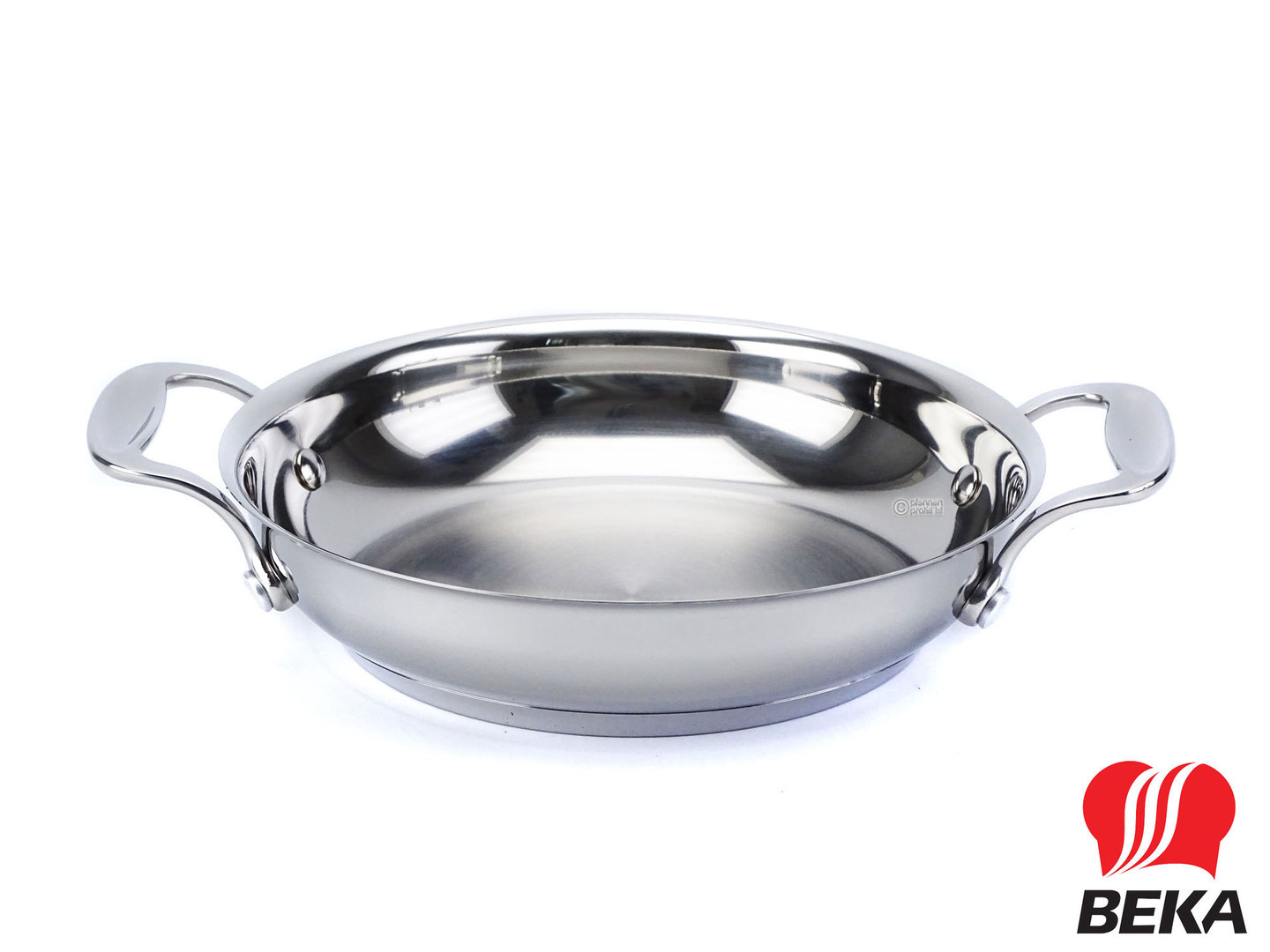 BEKA stainless steel frypan CHEF 20 cm with side handles induction