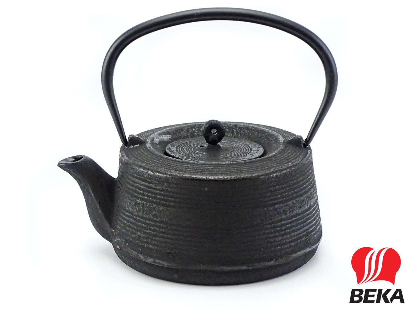 BEKA cast iron teapot XIA black 0,6 L with tea strainer