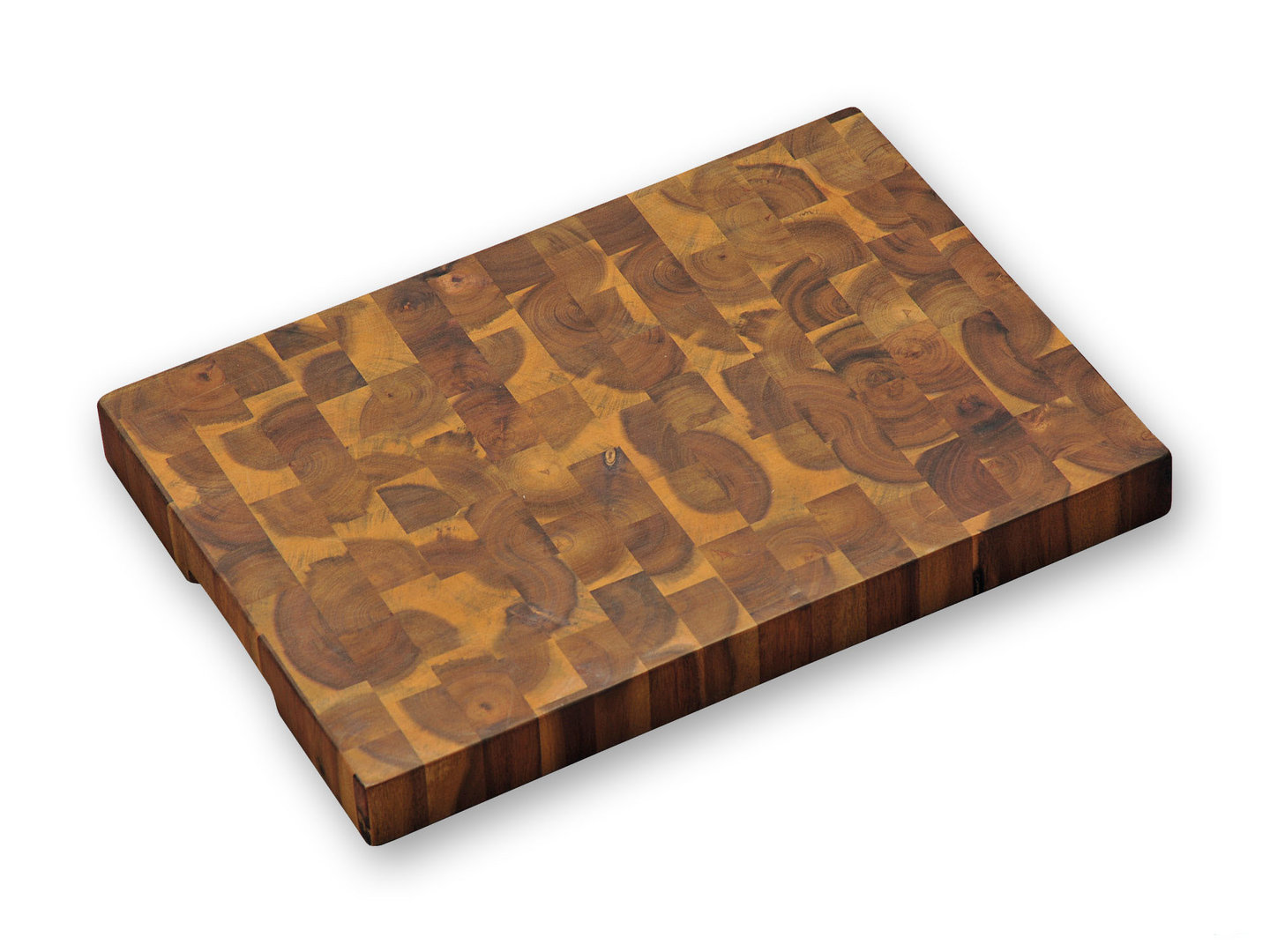 KESPER acacia wood end grain cutting board 42 x 30 x 4 cm