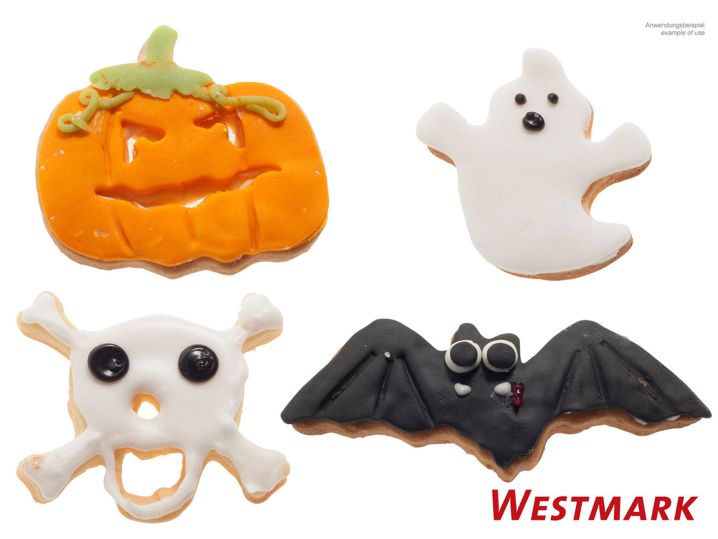 WESTMARK cookie cutter set HALLOWEEN 4 pcs