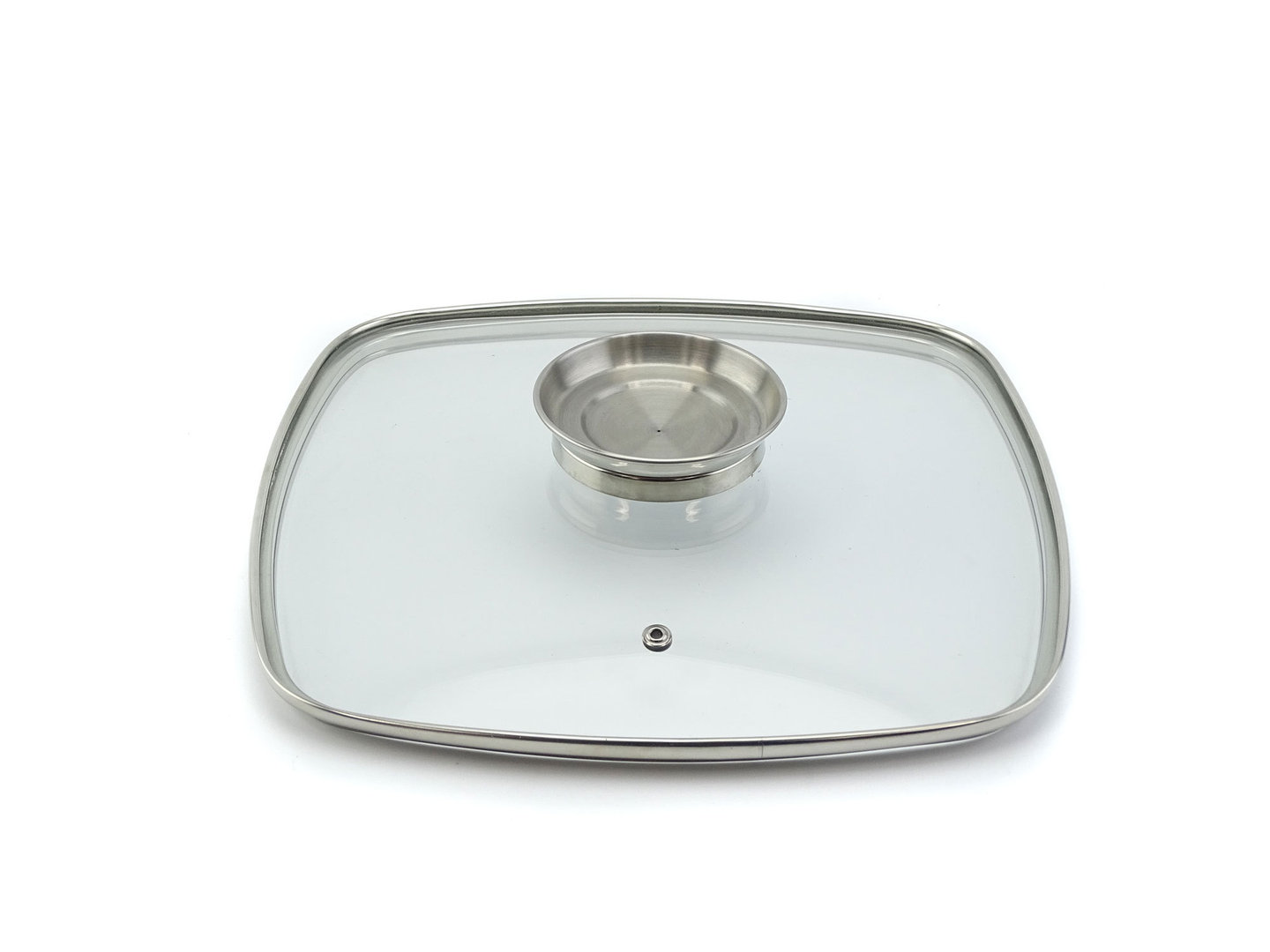 SSW Replacement glass lid for SSW shallow casserole CRISPY INDUCTION 28 x 28 cm