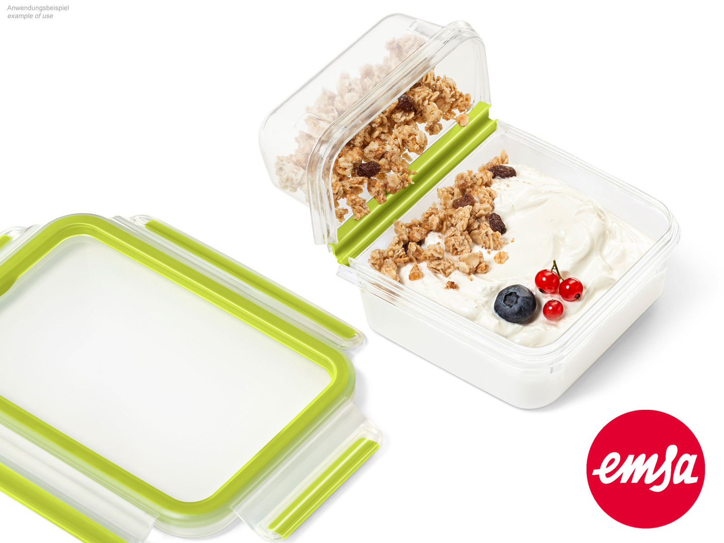 EMSA yogurt box CLIP & GO food storange container to-go