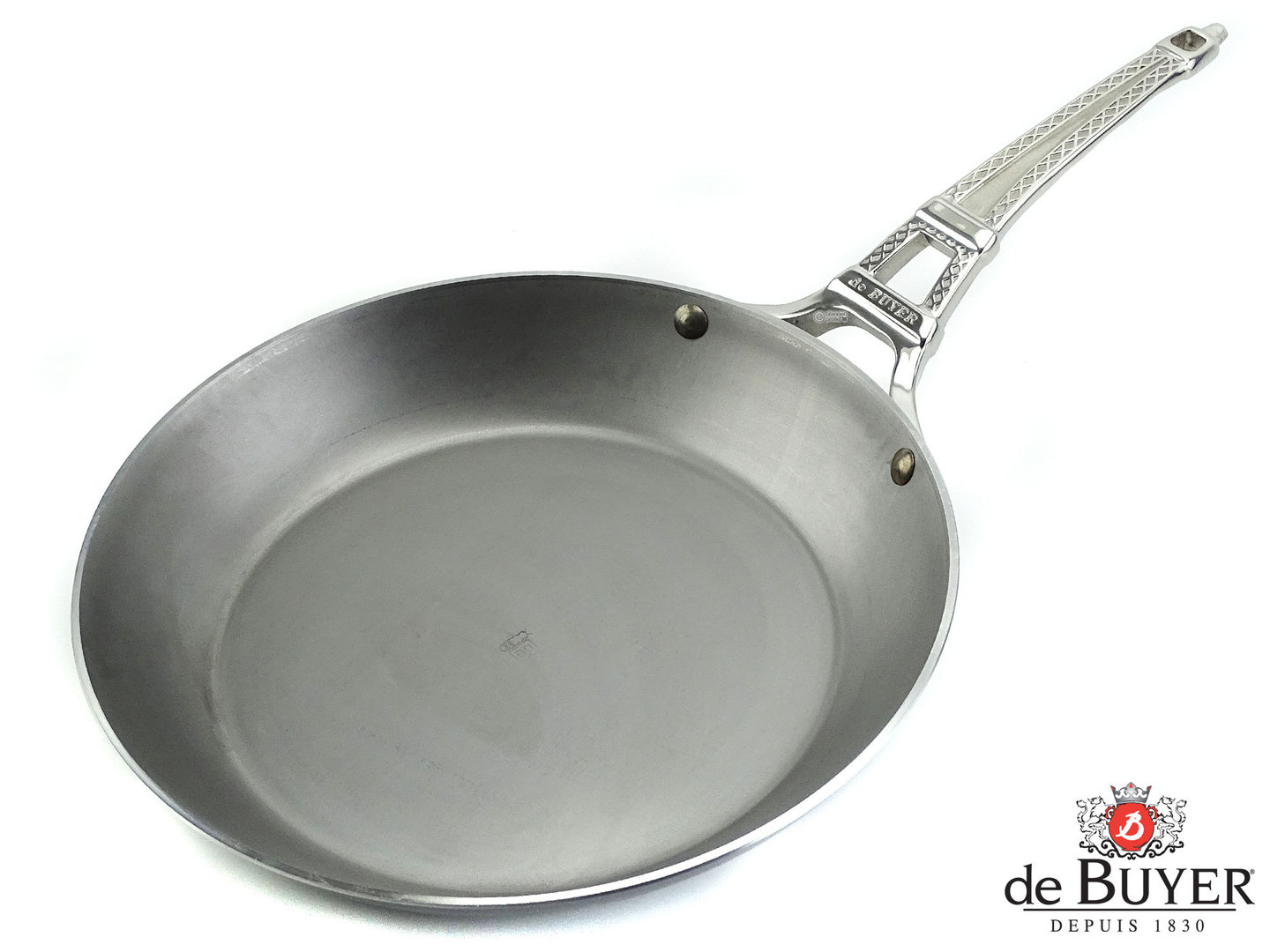 DE BUYER iron pan FRENCH COLLECTION MINERAL B 28 cm