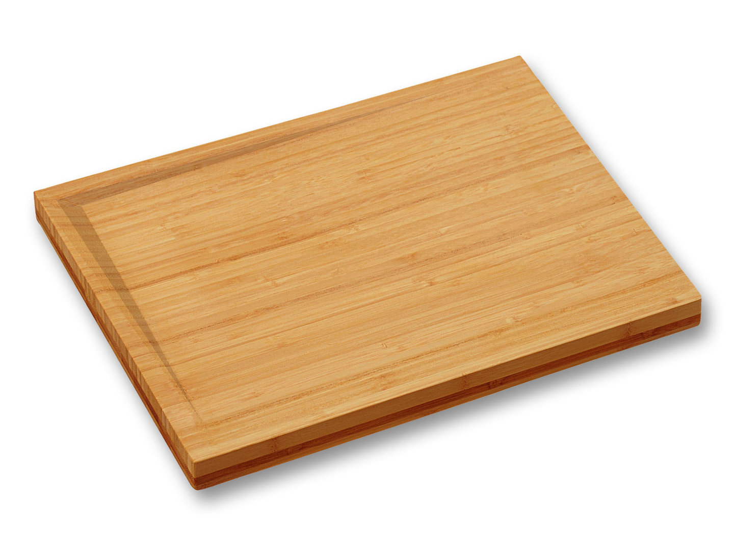 KESPER bamboo cutting board with inclined surface 38 x 28 x 3.5 cm