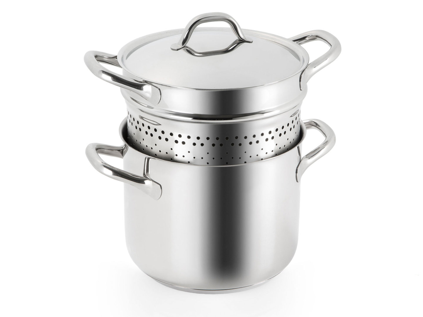 BARAZZONI pasta cooker CHEF LINE stainless steel 22 cm 6 liters