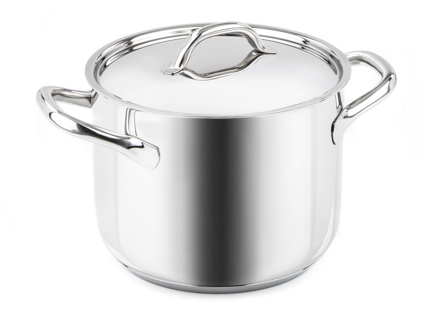 BARAZZONI stockpot CHEF LINE stainless steel 28 cm with lid 13.5 L