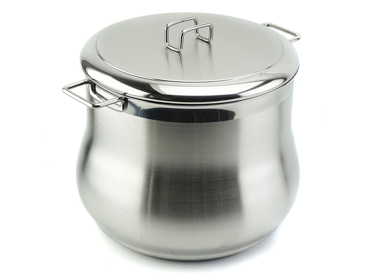 BARAZZONI stockpot TUMMY stainless steel 26 cm with lid 11.5 L