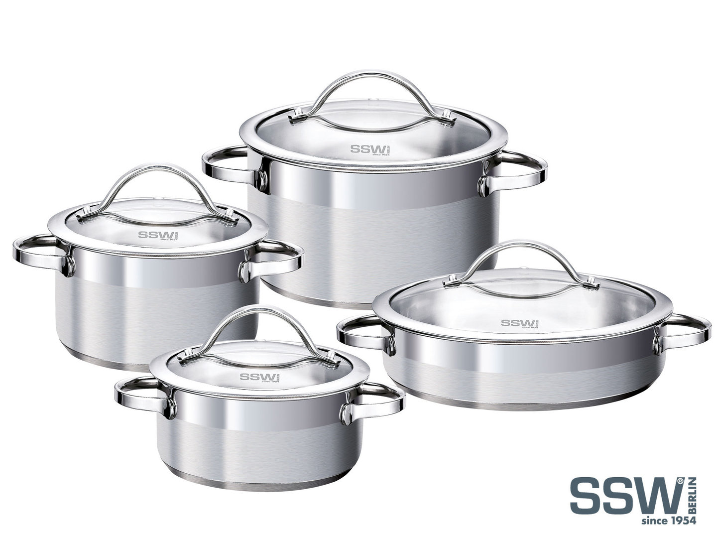 SSW cookware set PULPO stainless steel