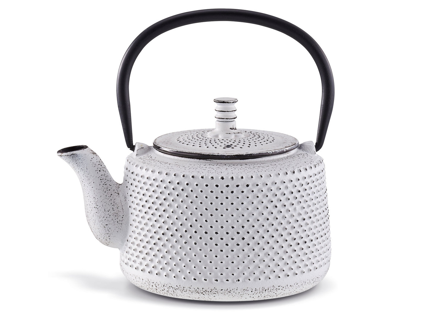 BEKA cast iron teapot JITO white 0.8 L with tea strainer