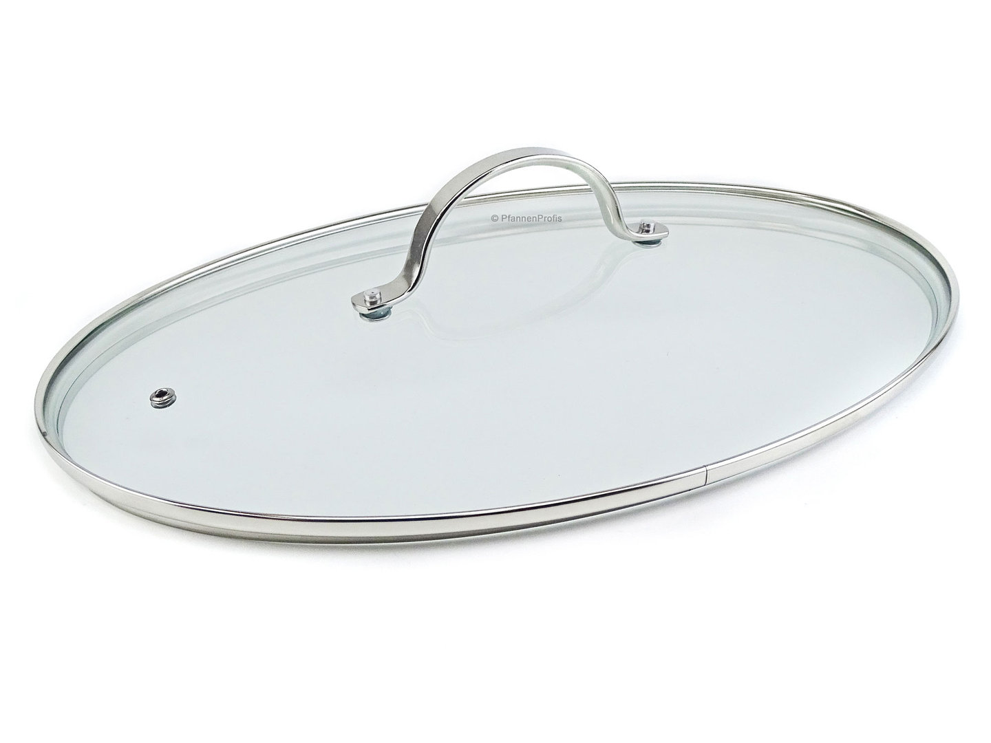 BEKA glass lid for BEKA fishpan (13947384) 37.5 x 25 cm ovenproof up to 180°C