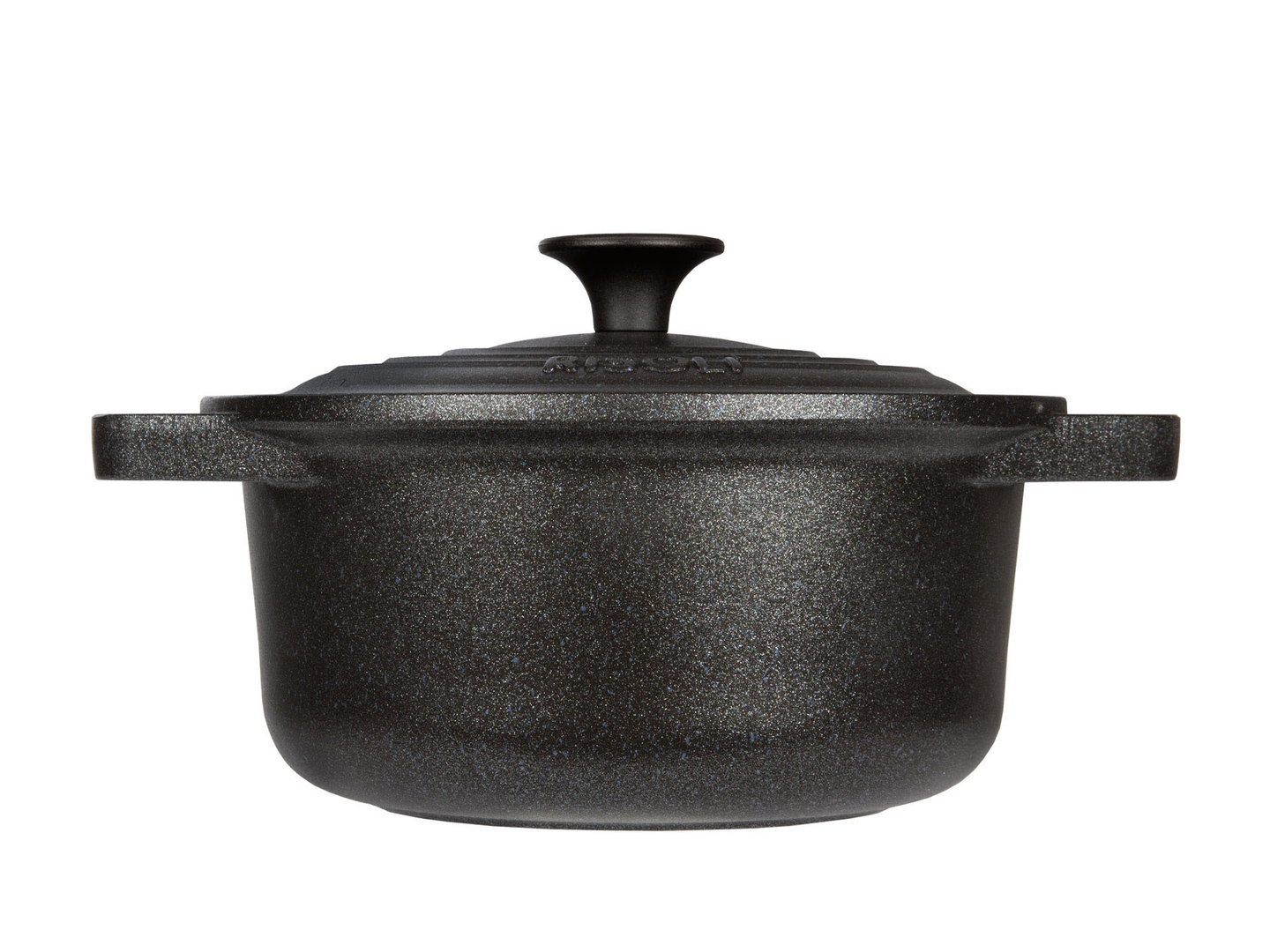 RISOLI cast aluminum casserole LE PIGNATTE 24 cm cocotte round induction with glass lid