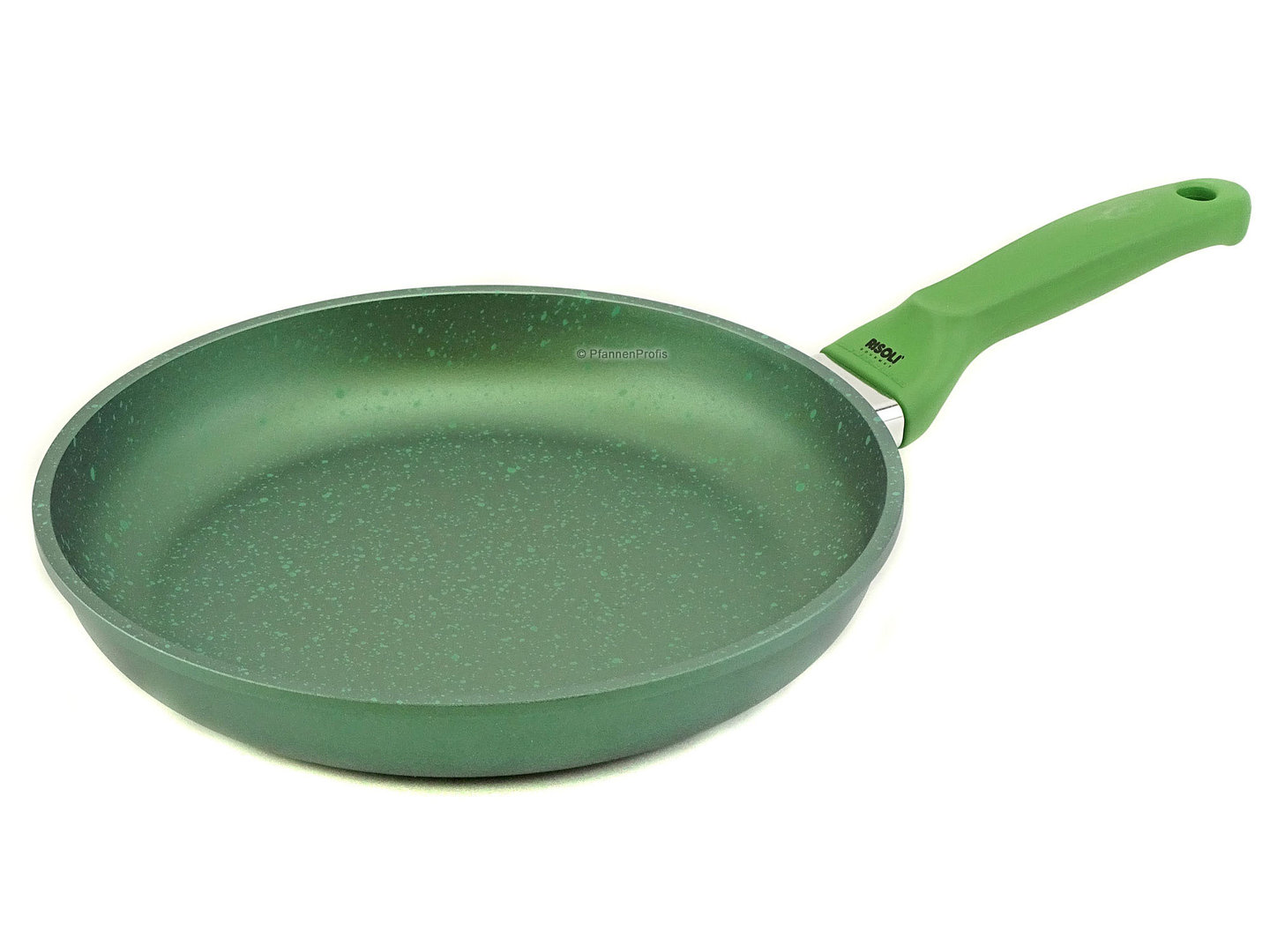 RISOLI cast aluminum fry pan DR. GREEN induction 28 cm