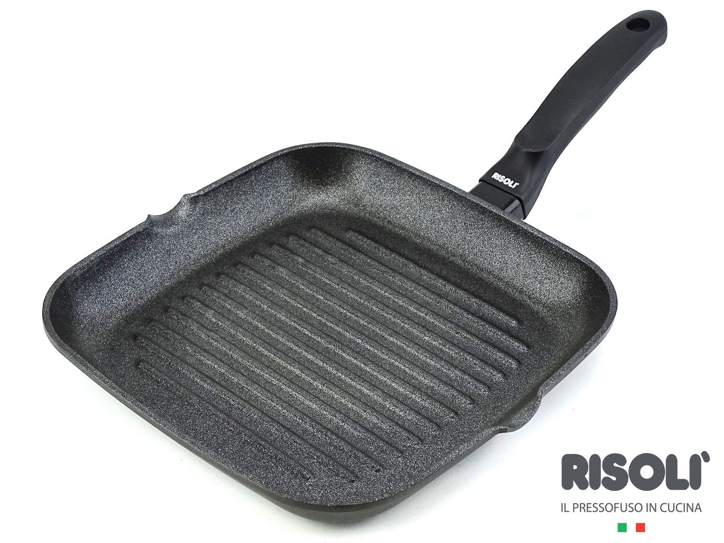 RISOLI cast aluminum grillpan BLACKplus induction 26 x 26 cm