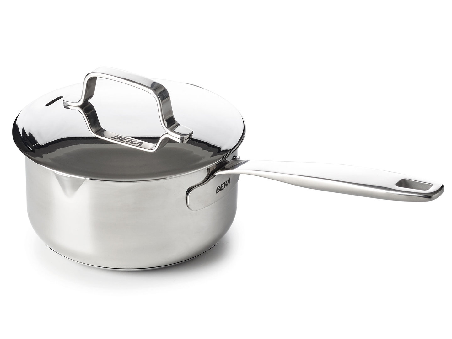 BEKA saucepan MAESTRO 16 cm stainless steel with lid 1.6 L