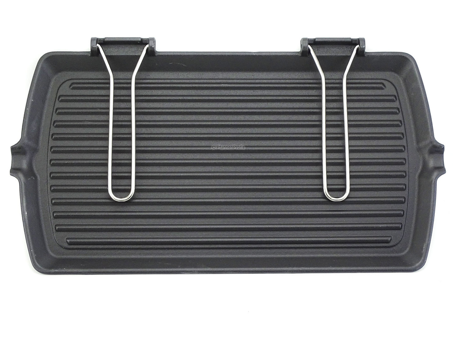 RISOLI cast iron grillpan 50 cm with foldaway handles