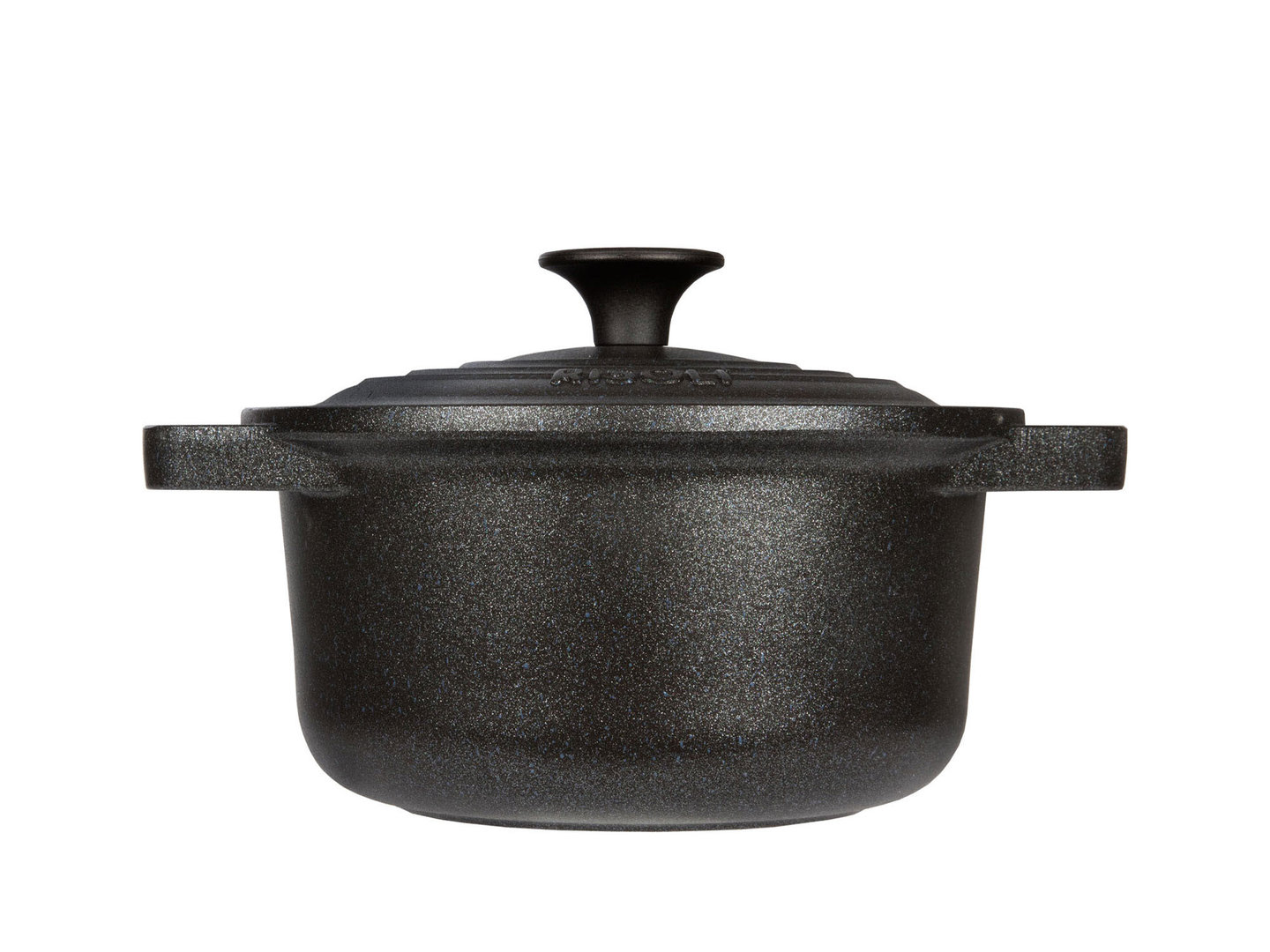 RISOLI cast aluminum casserole LE PIGNATTE 20 cm cocotte round induction with glass lid